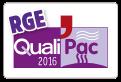 Logo rge qualipac 2016
